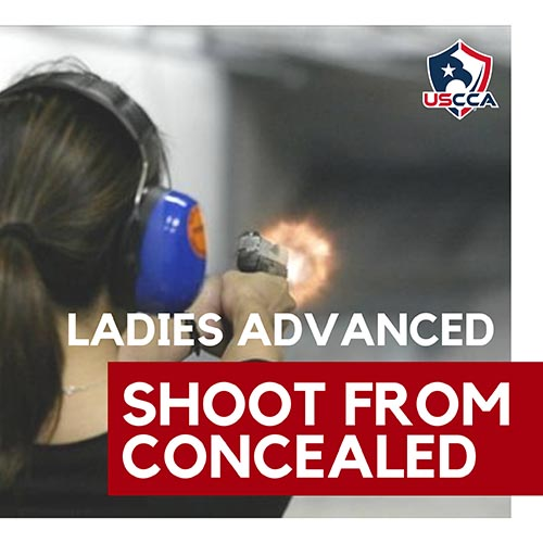 ladies shoot from concealed